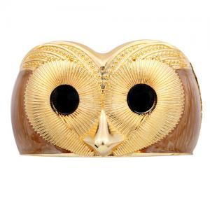Stunning Unique Owl Gold P..